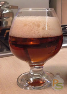 Готовое гречневое пиво