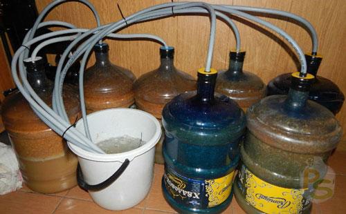 Процесс приготовления браги