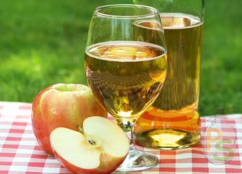 Сухой сидр с яблоками
