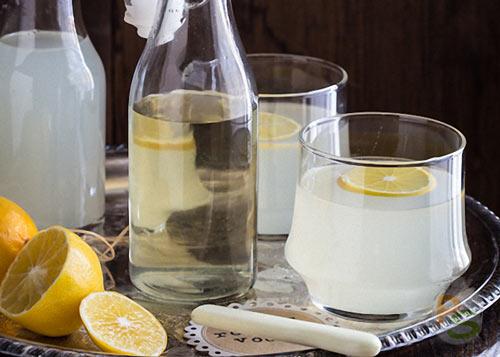Водка из спирта на лимоне