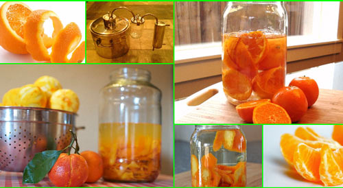 Апельсины и мандарины для самогона