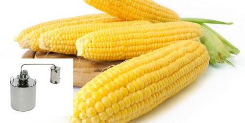 Кукуруза и самогонный аппарат
