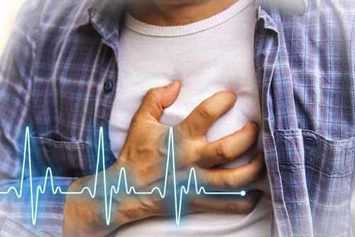 Человек с больным сердцем.