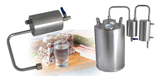 Аппарат для приготовления самогона дома