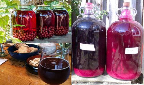 Как бродит вино из компота