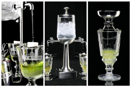 Технология питья абсента.