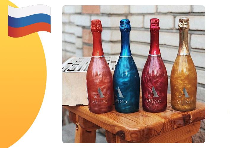 Перламутровое шампанское Avino