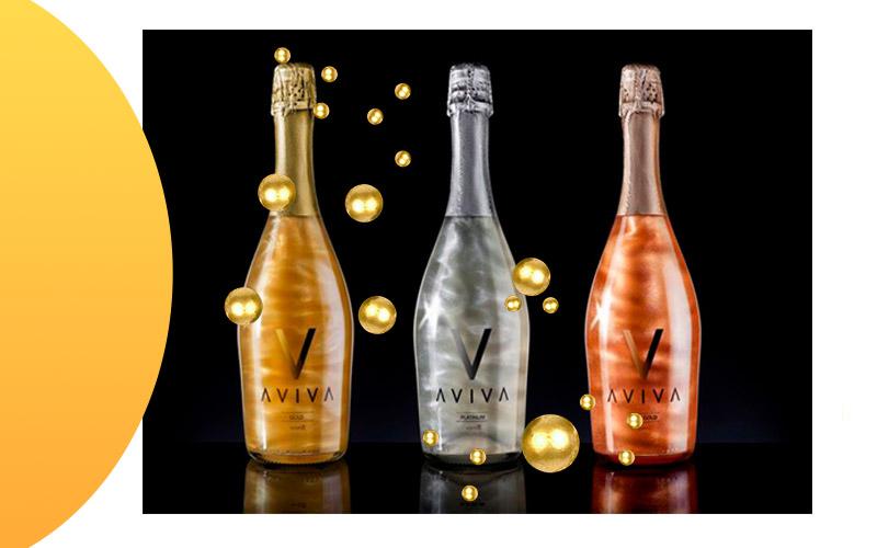 Перламутровое шампанское Aviva