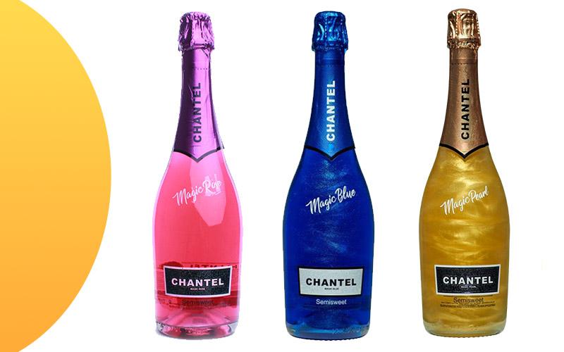 Перламутровое шампанское Chantel