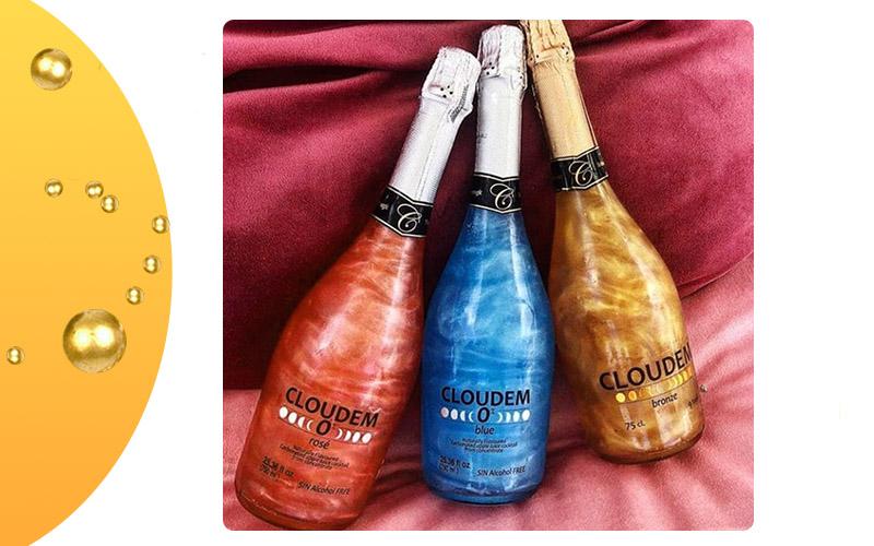 Перламутровое шампанское Cloudem