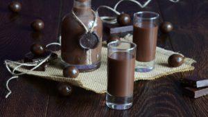 шоколадный ликер в домашних условиях